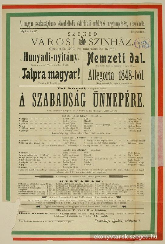 Petőfi Sándor: Hunyadi-nyitány